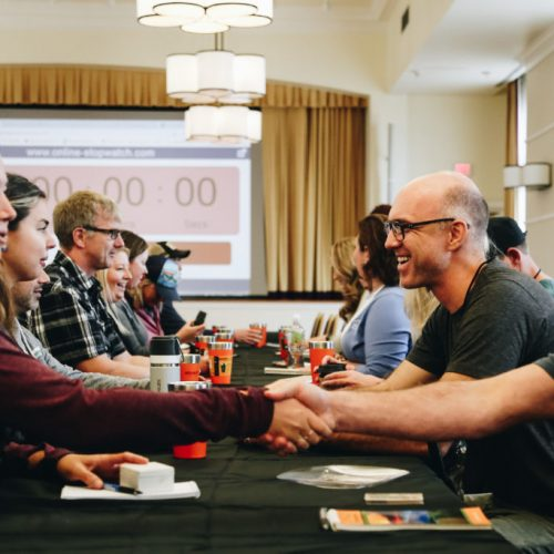 Speed Date at Outdoor Blogger Summit 2018 in Roanoke