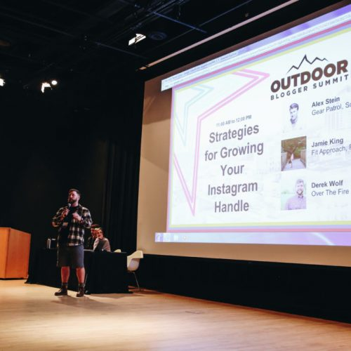 Speaker at Outdoor Blogger Summit 2018 in Roanoke