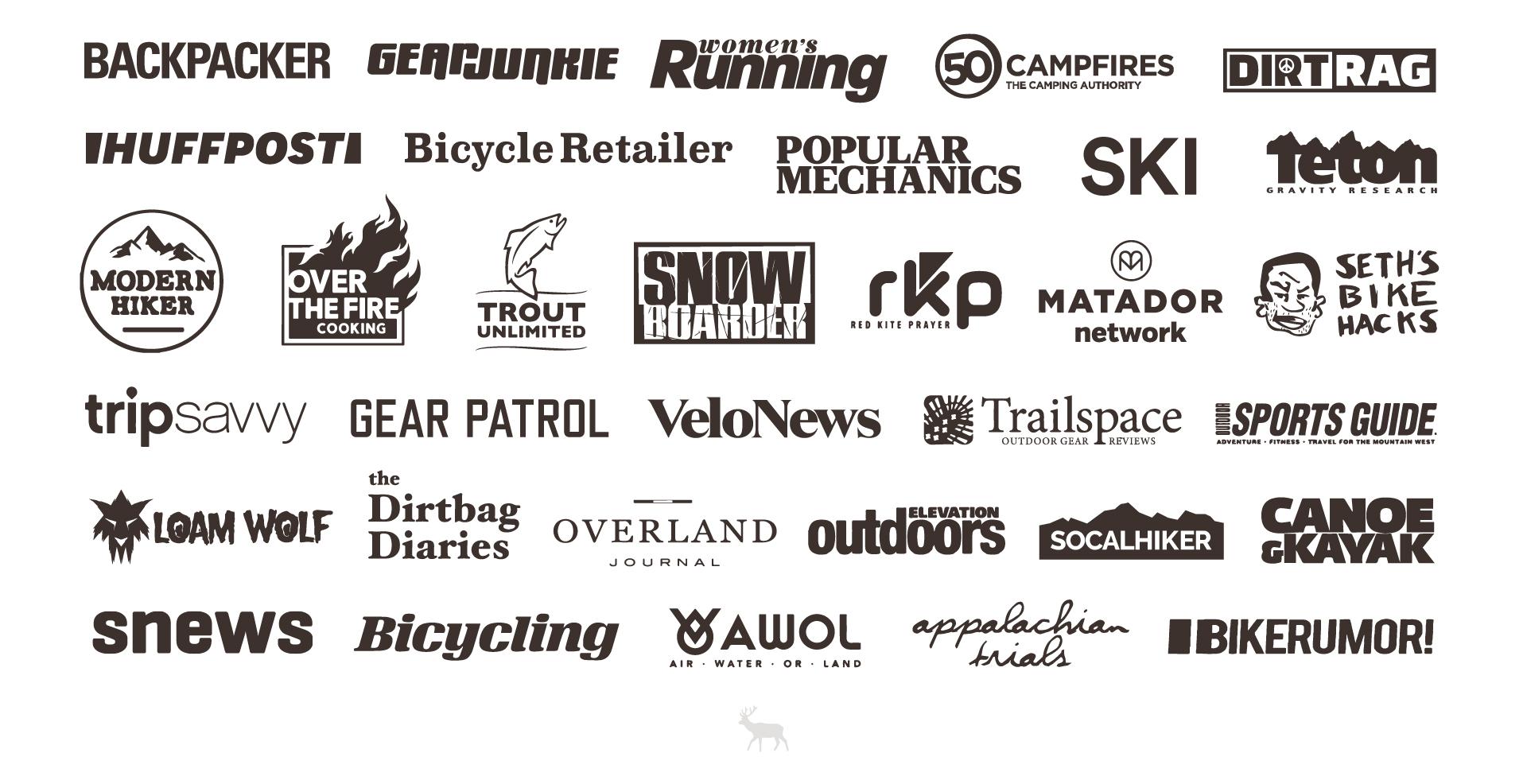 Past Outdoor Media Summit Media Attendees - Logos