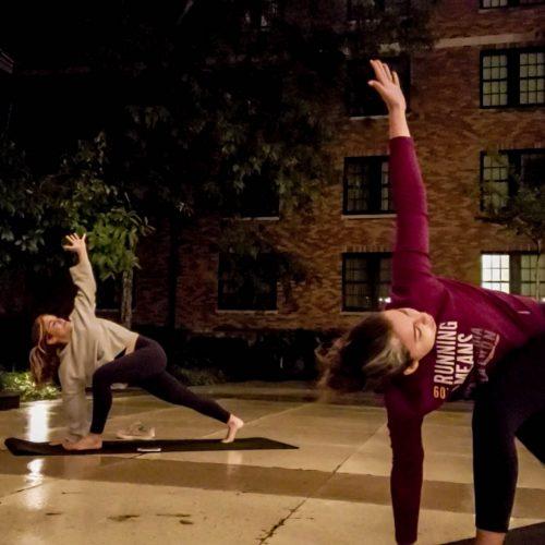 Morning Yoga at OMS 2018 2018 in Roanoke Virginia