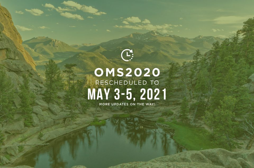 OMS2020 - New Dates - May 3-5