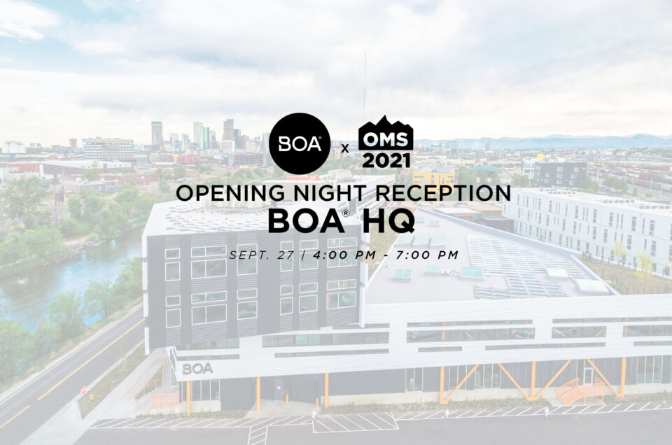 Opening Reception Night @ BOA Headquarters Details